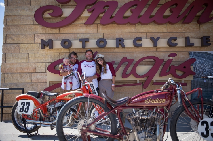 Indian Motorcycle Sturgis Presents 20th Century Racing