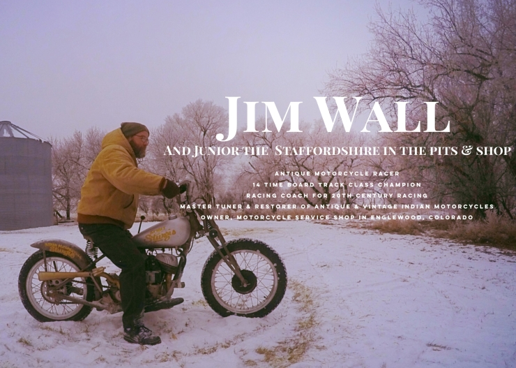 Jim Wall, Motorcycle Service Shop, 20th Century Racing