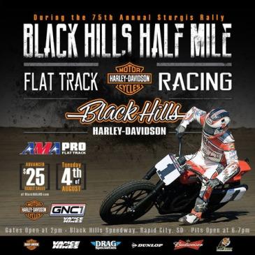 Black Hills Half Mile AMA Pro Flat Track Races